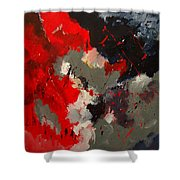 Abstract 55901103 Shower Curtain