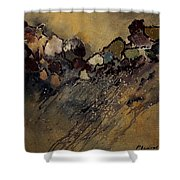 Abstract 55901161 Shower Curtain