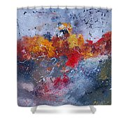 Abstract  55902110 Shower Curtain
