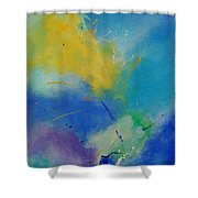 Abstract 564897 Shower Curtain