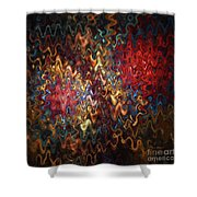 Abstract 60816 Shower Curtain