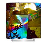 Abstract 6162 Shower Curtain