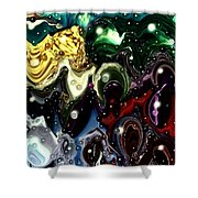 Abstract 623165 Shower Curtain
