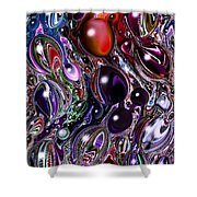 Abstract 62316.7 Shower Curtain