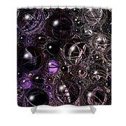 Abstract 63016.12 Shower Curtain