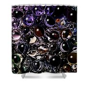 Abstract 63016.5 Shower Curtain