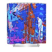 Abstract 6499 Shower Curtain