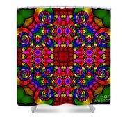 Abstract 652 Shower Curtain