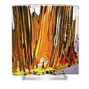 Abstract 6535 Shower Curtain