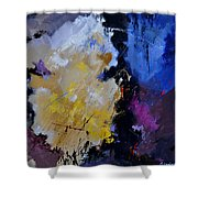 Abstract 660101 Shower Curtain