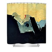 Abstract 660110 Shower Curtain