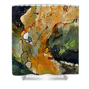 Abstract 66018012 Shower Curtain