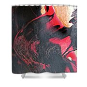 Abstract 6606 Shower Curtain