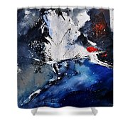 Abstract 6611401 Shower Curtain