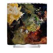 Abstract 6611402 Shower Curtain