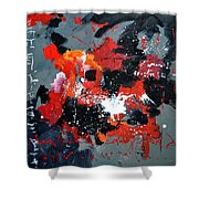 Abstract 6611403 Shower Curtain