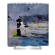 Abstract 6611602 Shower Curtain