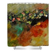 Abstract 6611604 Shower Curtain