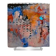 Abstract 66611032 Shower Curtain