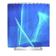 Abstract 6737 Shower Curtain