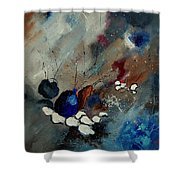 Abstract 67909010 Shower Curtain