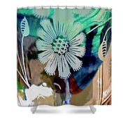 Abstract 6875 Shower Curtain