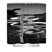 Abstract 6b Shower Curtain
