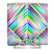 Abstract 700 Shower Curtain