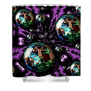 Abstract 71216.5 Shower Curtain