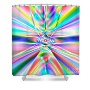 Abstract 723 Shower Curtain