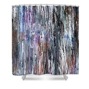 Abstract 741 Shower Curtain