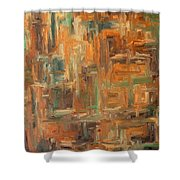 Abstract 751 Shower Curtain