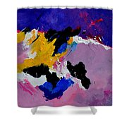 Abstract 760170 Shower Curtain
