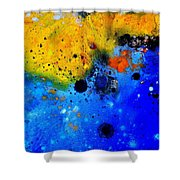 Abstract 767b Shower Curtain
