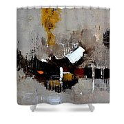 Abstract 7751501 Shower Curtain