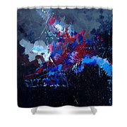 Abstract 77902171 Shower Curtain