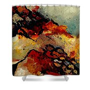 Abstract 780707 Shower Curtain