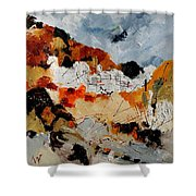 Abstract 780708 Shower Curtain