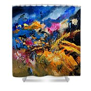 Abstract 7808082 Shower Curtain