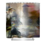 Abstract 8036 Shower Curtain