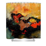 Abstract 8080 Shower Curtain