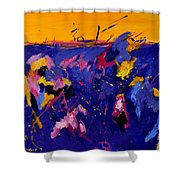 Abstract 880160 Shower Curtain