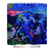 Abstract 8801602 Shower Curtain