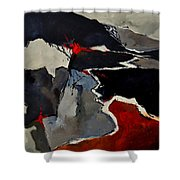 Abstract 881110 Shower Curtain