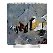 Abstract 88112012 Shower Curtain