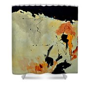 Abstract 88112070 Shower Curtain