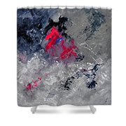 Abstract 88114010 Shower Curtain