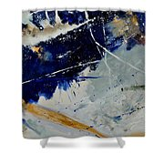 Abstract 8811503 Shower Curtain