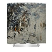Abstract 8821207 Shower Curtain