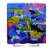 Abstract 8861012 Shower Curtain
